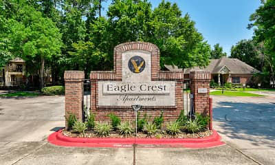 Community Signage, Eagle Crest Apartments, 2