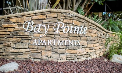 Community Signage, Bay Pointe, 1