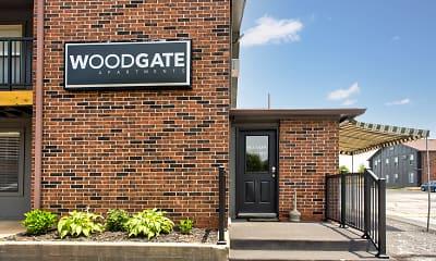 Community Signage, Woodgate Apartments, 0