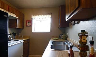 Kitchen, Meadows Apartments, 1