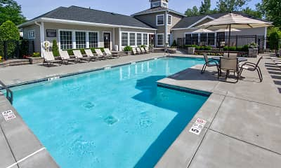 Pool, Country Club Manor Apartments, 0