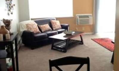 Living Room, Windsor Place Apartments, 2