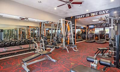 Fitness Weight Room, Tides at Downtown Chandler, 2