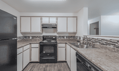 Kitchen, Fairview Oaks Woods, 0