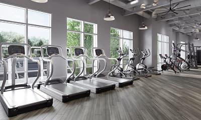 Fitness Weight Room, Cadence, 2