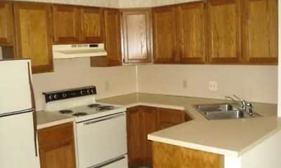 Kitchen, Strawberry Apartments, 2