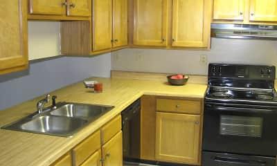 Kitchen, Ridge Pointe Apartment Homes, 1