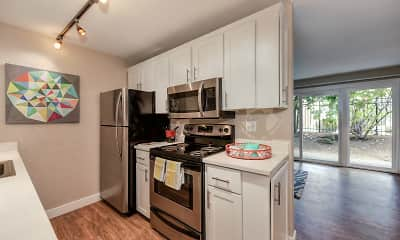 Kitchen, Ridgedale Apartments, 1