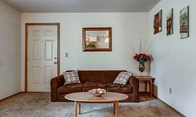 Living Room, Maverick & Hidden Village Apartments, 0