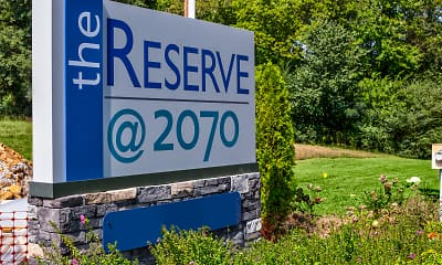 Community Signage, The Reserve at 2070, 2