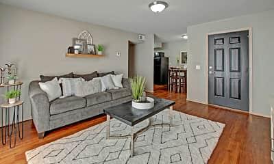 Living Room, Cottages at Hefner Road, 0