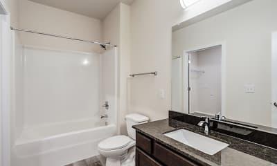 Bathroom, Hummingbird Hill, 2