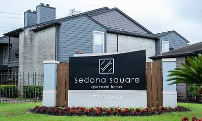 Community Signage, Sedona Square, 2