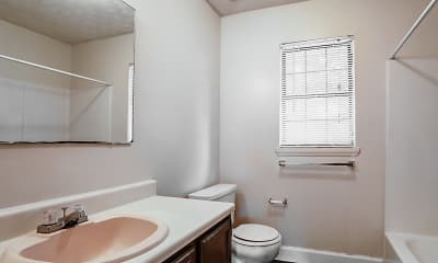 Bathroom, Ozark Estates, 2