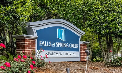Community Signage, Falls At Spring Creek Apartment Homes, 0
