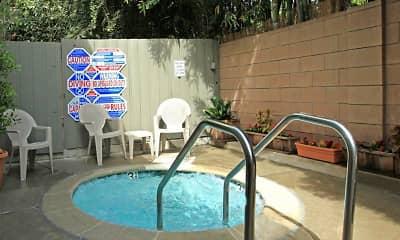 Pool, Chatham Oak Apartments, 2
