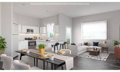 Living Room, Saddle Brook Landings, 0