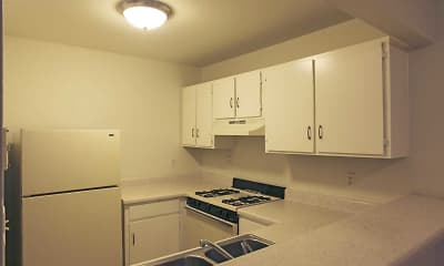 Kitchen, LaFonda Apartments, 1