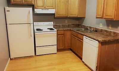 Kitchen, Hillwood Apartments, 1