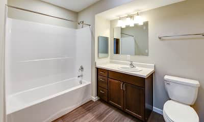 Bathroom, Hawthorn Landing Apartments, 2