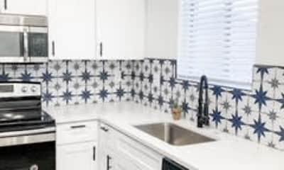 Kitchen, Century Apartments, 1
