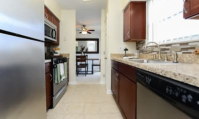 Kitchen, Sherry Lake Apartments, 1