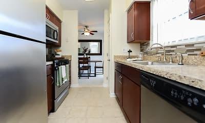 Kitchen, Sherry Lake Apartments, 1
