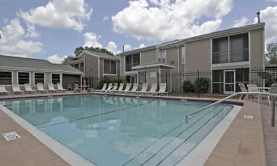 Pool, Palm Avenue Apartments, 0