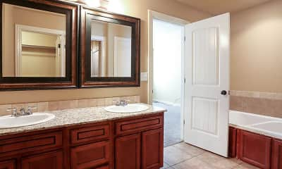 Bathroom, Willowbrook Duplexes, 2