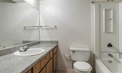 Bathroom, The Gardens Apartments, 2