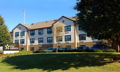 Building, Furnished Studio - Chicago - Romeoville - Bollingbrook, 1