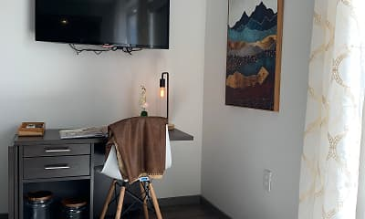 Dining Room, Nora Apartments, 2