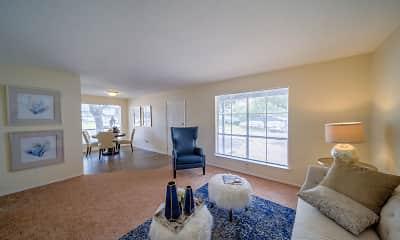 Living Room, Villas del Tesoro Apartments, 0