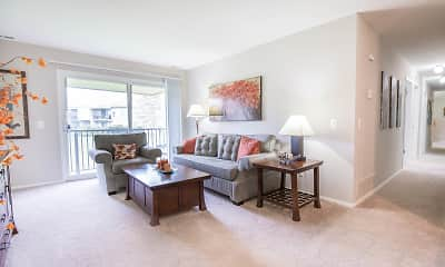 Living Room, Timberlea Village, 1