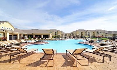 Pool, The Domain At Waco Student Apartments, 0