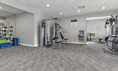 Fitness Weight Room, ARIUM Orange Park, 2