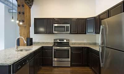Kitchen, Heath Street Lofts, 1