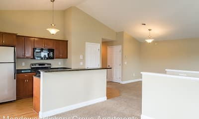 Kitchen, Hickory Grove Apartments, 0