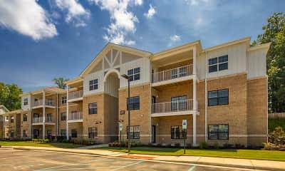 Building, River Bend Apartments, 1
