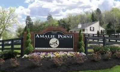 Community Signage, Amalie Point, 0