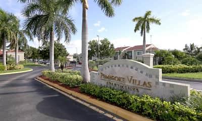 Community Signage, Pembroke Villas, 2