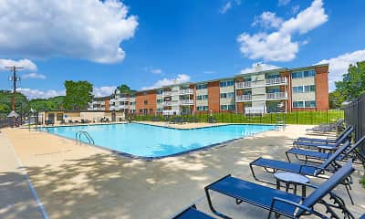 Pool, Avenue Apartments, 2