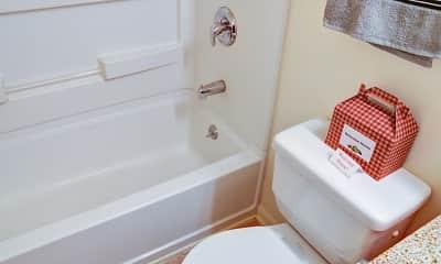 Bathroom, Village East Apartments, 2