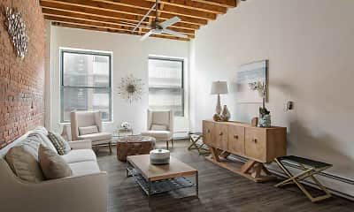 Living Room, SilverBrick Lofts, 0