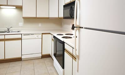 Kitchen, Amber Valley Apartments, 1