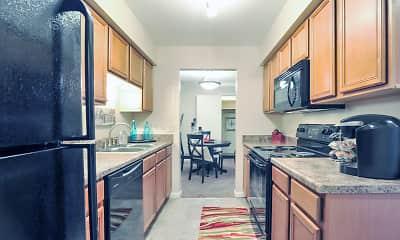 Kitchen, Abbey Court Apartments, 1