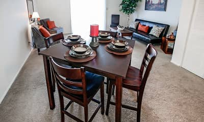 Dining Room, Bradford Lake Apartments, 0