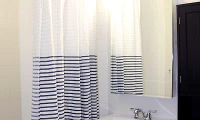 Bathroom, City View Apartments, 2
