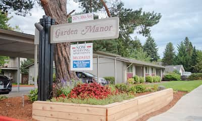 Community Signage, Garden Manor Apartments, 0