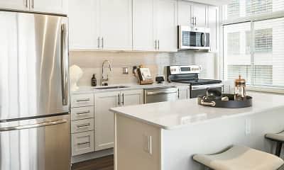 Kitchen, The Clark, 0